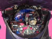 Engine Detail with dual carbs