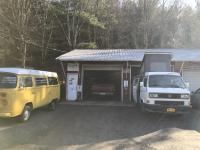 Bus depot tent