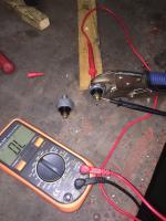 Motometer oil pressure switch