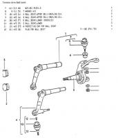 181 Torsion Arm Ball Joint - What part # to use?