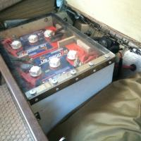 Auxilary batteries and LP gas / CO detector