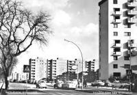 Old German Street Scene postcard