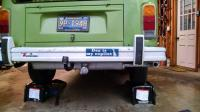 Ernst muffler and Peka hitch installed