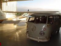 Flight line bus