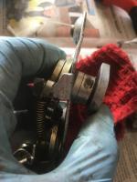 1970 Ghia door lock