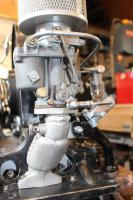Autotechnik express - fitting the carb linkage