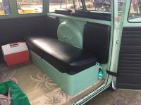 Double Cab rear seat used in bus.