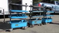 Hazet Tool Trolleys for Sale at Kelly Park, April 23rd, 2017 (Kelly Park, San Jose, CA)