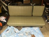 Bus bench seat covers