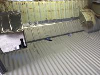 Microbus floor restoration