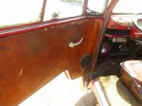 Red 1963 Double Cab dash photo
