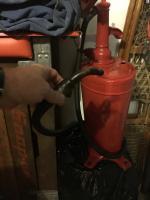 Oil fill pump