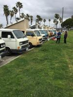 Vanagon meetup in San Diego