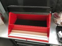 Teng Tools Barn Style Toolbox with Satin Finish tools
