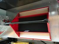 Teng Tools Barn Style Toolbox with Satin Finish tools