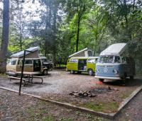 Tsali Campground in North Carolina, USA