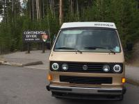 Westy in Yellowstone
