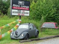 Rhino Lining isn't just for the inside!