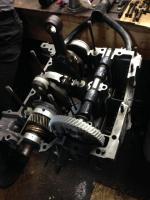 bus engine build II