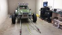 Baja Bug, PRT Wheels, King shocks, 094 Transaxle Weddle