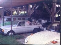 Shot of the VW yard