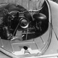 pre 1949 rear apron with crank hole