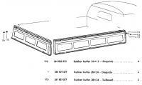 dropside gate rubber bumper buffer