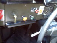 dash of 181 showing blue light/horn switch