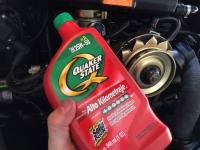 Liqui Moly and Quaker State on my Sedan engine