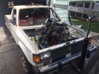 81 Rabbit Truck Motor Install