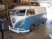 Another Shot of the Bus in the shop...