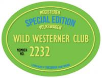 Wild Westerner Owners Decal