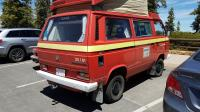Firetruck Syncro camper