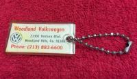 Woodland Volkswagen Key Chain FOB
