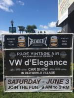 Rare Vintage Air VW d'Elegance - June 3rd, 2017 - HB, CA