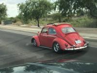 63 Porsche guards red