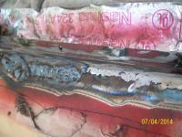 Baywindow widnshield frame repair
