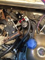 refurbed fuel routing, subaru forester 2010 engine in vanagon