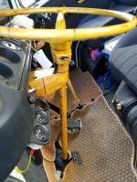 bamboo steering column