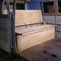 1966 bus Rock and Roll Seat