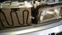Audi Cabriolet high side port condenser