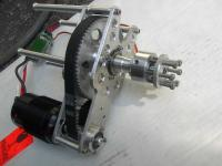 my custom built brushless belt drive motor
