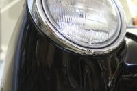 1963 Squareback headlight ring with 2 drain holes