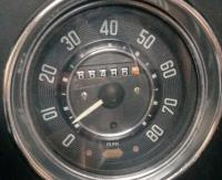 80mph Speedometer