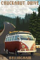 Chuckanut Drive - Bellingham WA poster