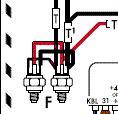 master cilinder sensor connections