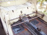 Back seat frame