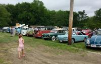 VW invasion at German day
