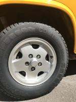 """Vanagon 14"""" tires"""