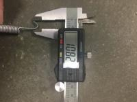 Barndoor RHD pedal spring details